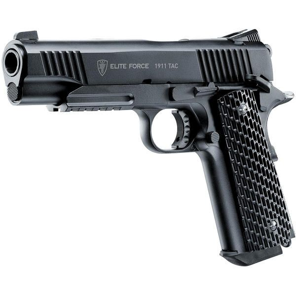 Pistol Airsoft M1911 Tactical Co2 Elite Force Umarex Full Metal