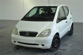 Mercedes A 140 на части