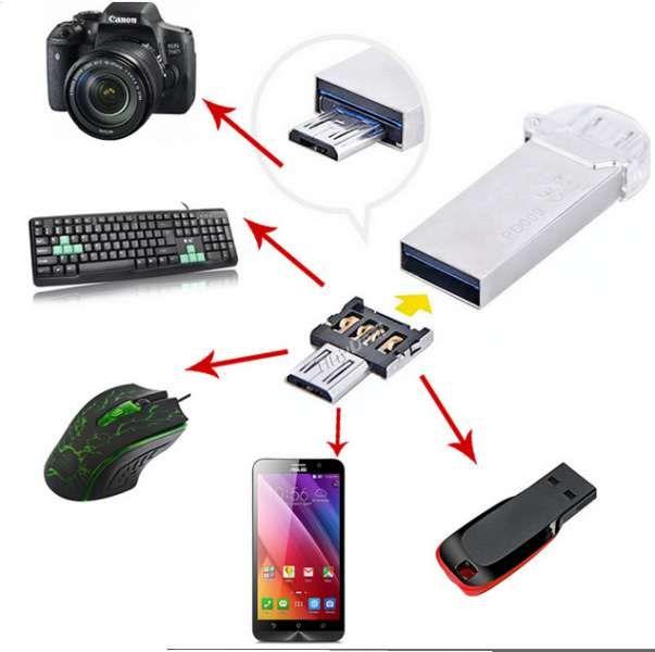 USB OTG адаптер