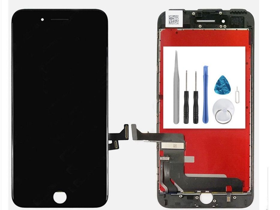Дисплей за Iphone 7+ Бял и Черен Супер Качество АААА+ Оригинални