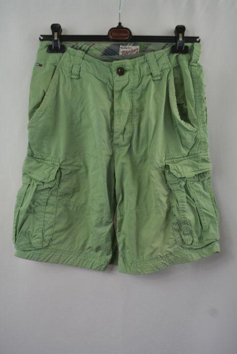 Pantaloni scurti barbati Tommy Hilfiger Denim marimea S W30 verzi N16