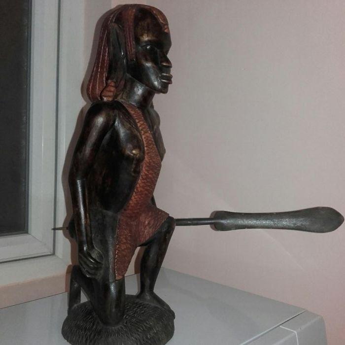 Statueta lemn masiv african