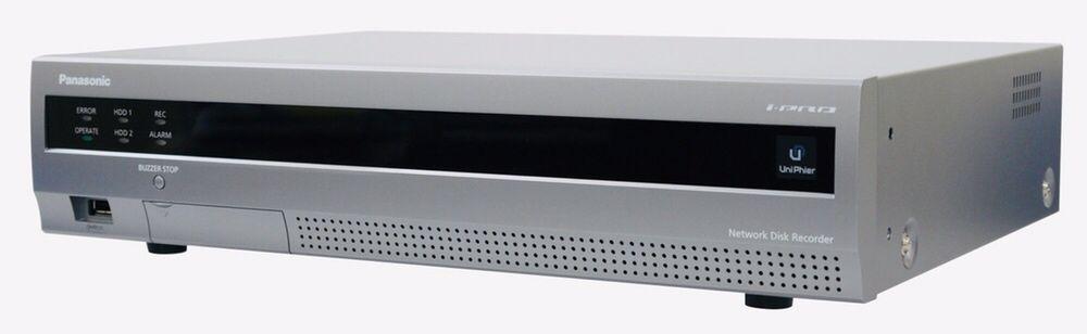 Sistem supraveghere NVR Panasonic 6TB WJ-NV200 + 9 camere IP