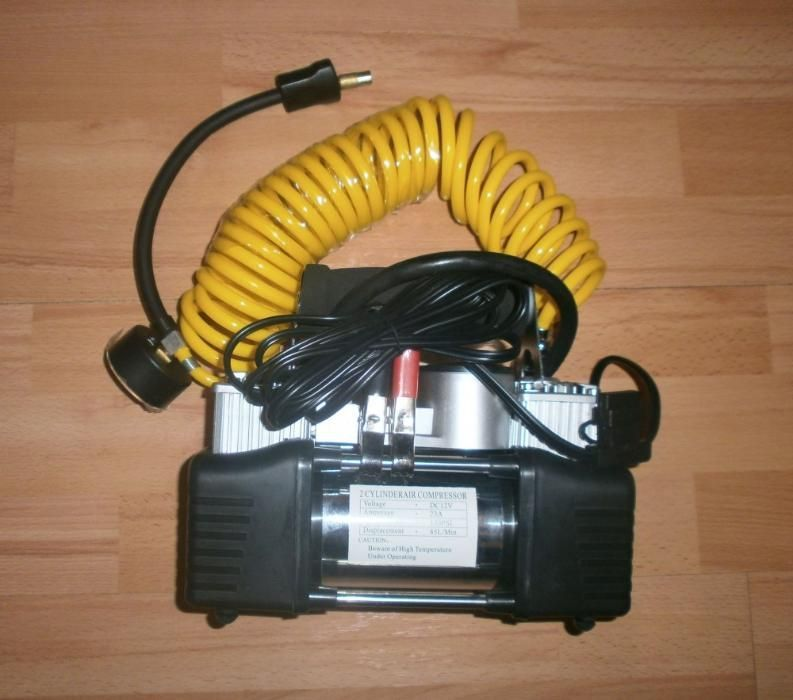 Compresor Auto 12V cu 2 Cilindri 23A 85L/min