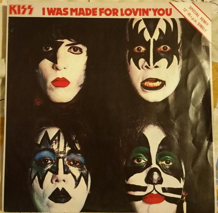 Kiss -I was made for loving you -disc vinyl