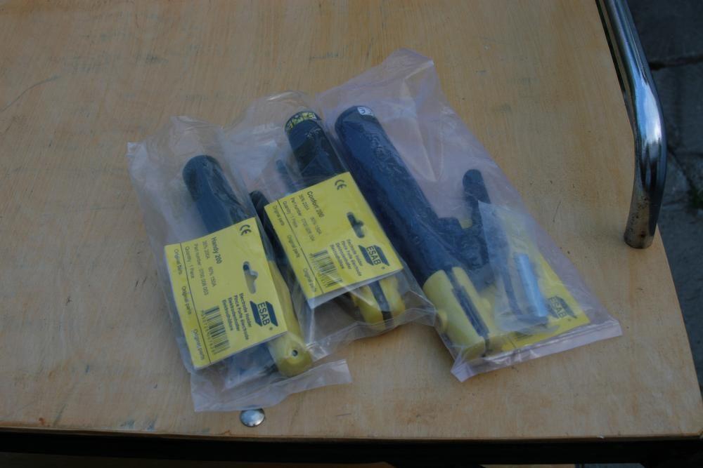 Ръкохватка за заваряване, кабел маса, шлаково чукче - Esab