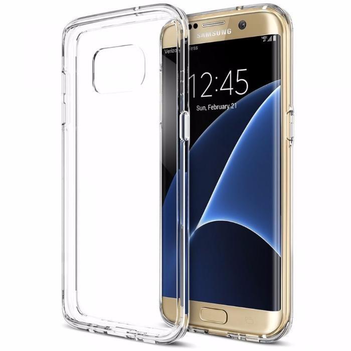 Husa slim pentru SAMSUNG S7 EDGE TPU 0.3mm Transparenta