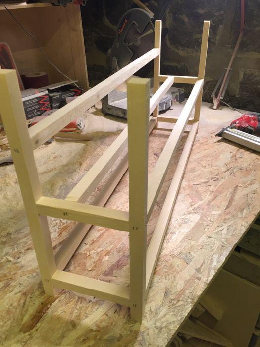 Дървена стойка за РИГ