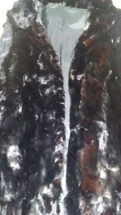 Дълъг елек от визон