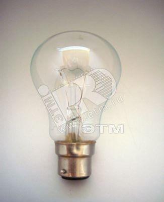 Лампа накаливания железнодорожная Ж54/60 В22