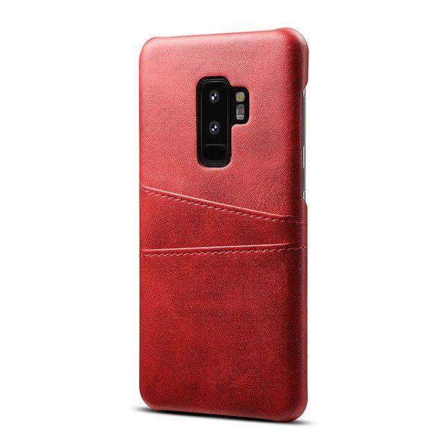 Husa Ultra Slim Piele Samsung S7, S8, S8 Plus S9, S9 Plus, j7 2017