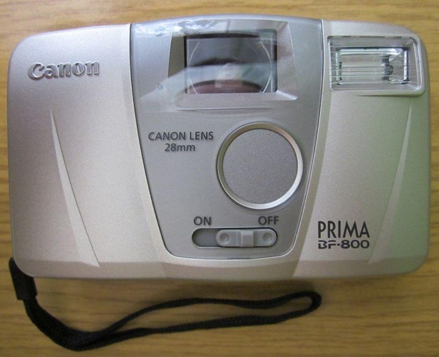 Фотоапарат Canon Prima BF-800, като нов, с калъф