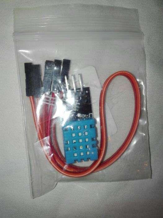 DHT11 *sensor de temperatura e humidade