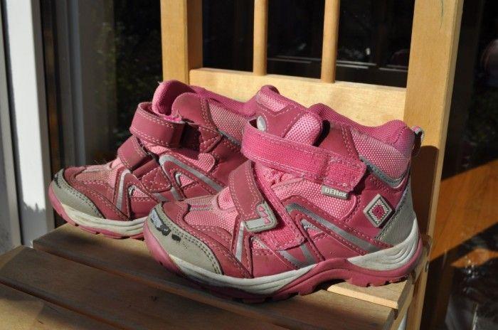 Ghete Deltex fete, roz, nr 27. Ideale pentru vreme rece si uscata!