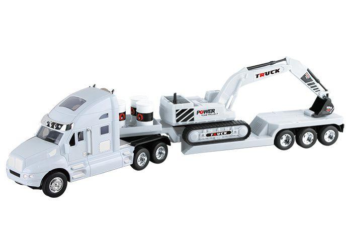 Camion de remorcare cu excavator RC