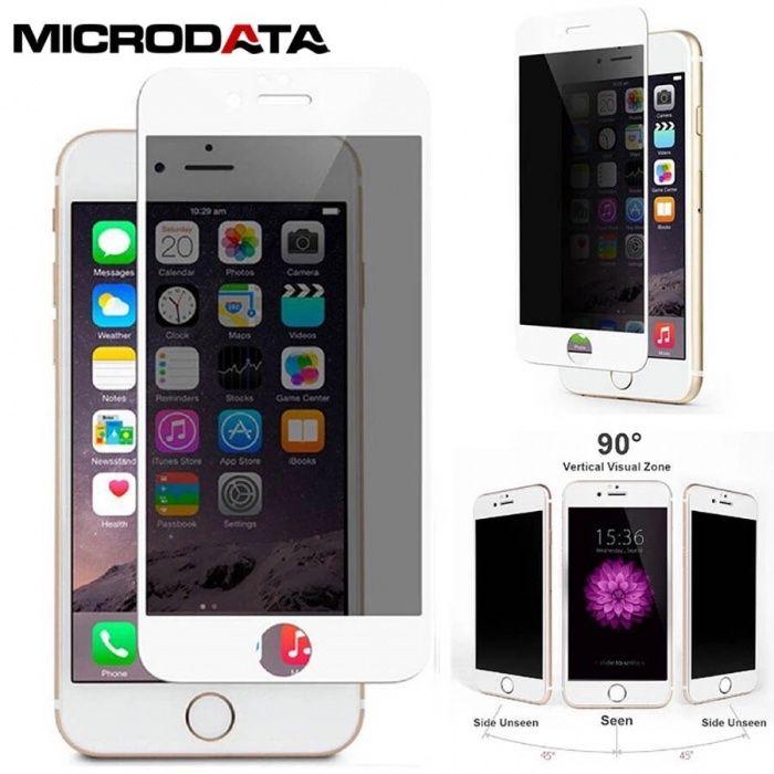 Folie din Sticla Privacy 5D iPhone 6/6s/6Plus/6sPlus/7/7Plus 8/8Plus