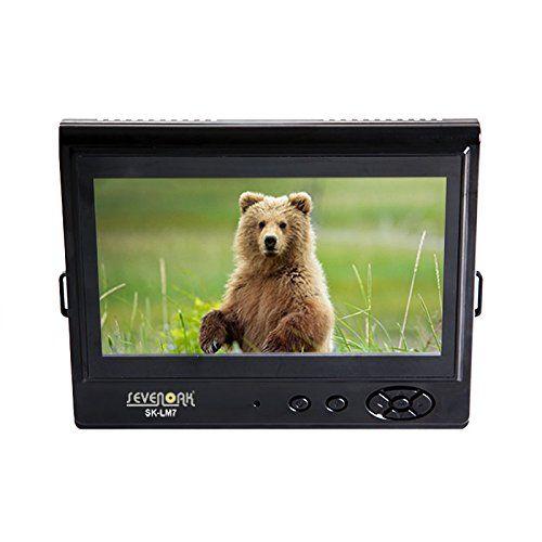 Monitor LCD 7 inch Sevenoak SK-LM7, Foto DLSR, camere video, macara