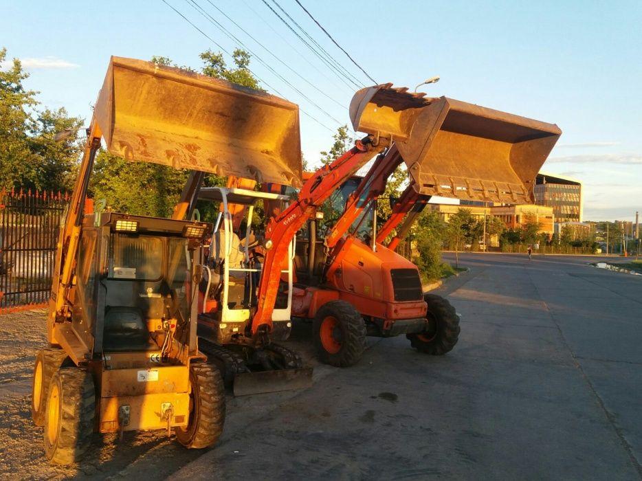 Miniexcavator Picon, Buldoexcavator, Miniincarcator Bobcat, Excavator