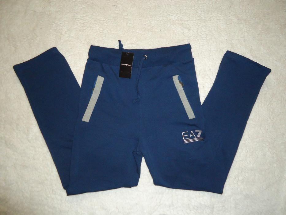 Trening barbatesc bleumarin insertii gri costum sport casual