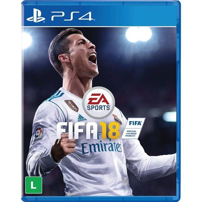 FIFA 2018 - PS4 (NAO TEM Desconto)