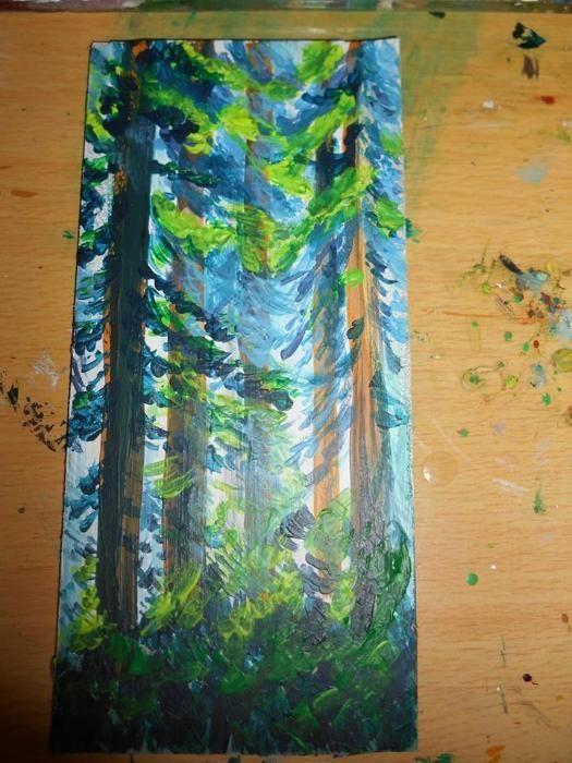 vand pictura pe mucava