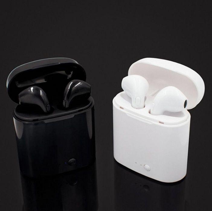 Vendo auriculares sem fio i7stws wireless preto e branco