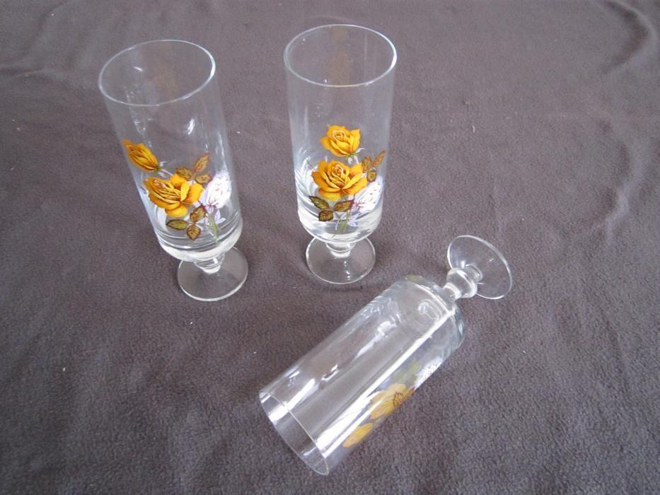 Чаши стъклени високи - 2 х 6 броя