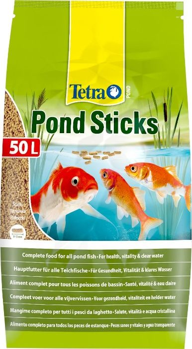 """Tetra Pond Sticks гранулы 50 литров в """"Живом Уголке"""" в Таугуле"""