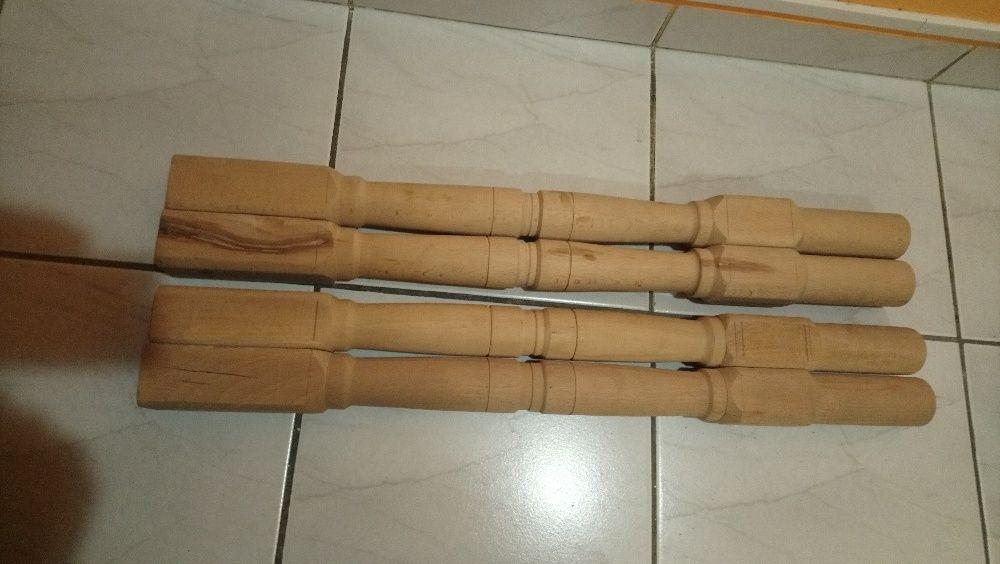 Дървени крака за маса