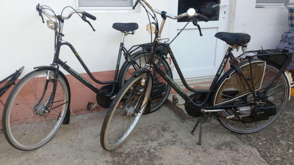 bicicleta saxonette luxus cu motor pe benzina