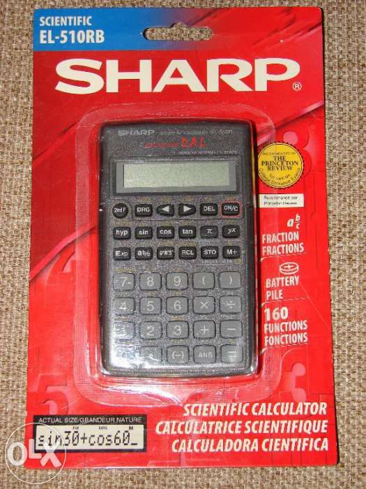 Calculator Sharp EL-510RB