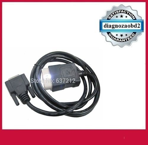 Cablu OBD2 cu led, pt. tester diagnoza auto CDP+ sau Delphi ds150
