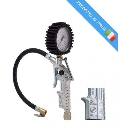 Пистолет за гуми с манометър