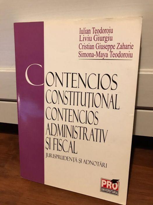 Contencios constitutional / Contencios administrativ fiscal