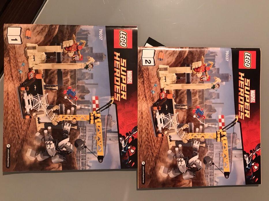 Lego Super Heroes Spiderman 76037 și 76004 in cutie
