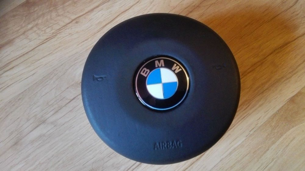 Airbag Volan BMW M TECH Piele New Model seria F 1,2,3,4,5,6,7