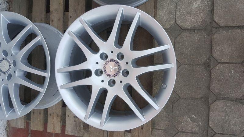 Jante Mercedes SLK 7.5x17 et 36 5x112 OEM Oradea - imagine 5