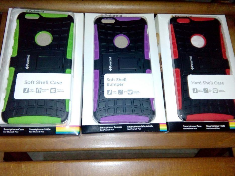 Huse Antishock Armura Compatibile Iphone 6 Plus Noi Polaroid