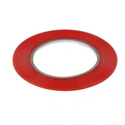 двойно залепваща лепенка 1mm  червена