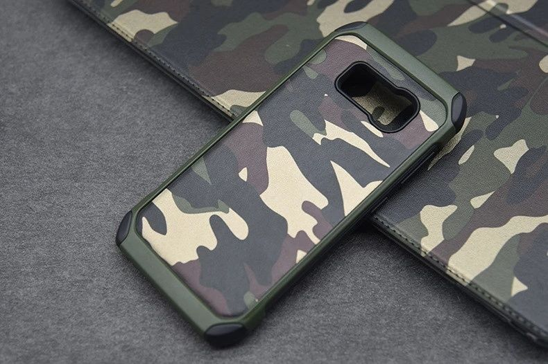 Камуфлажен Кейс за Samsung Galaxy S5 / S6 / S7 / S7 Edge / S8 / S9 S9+