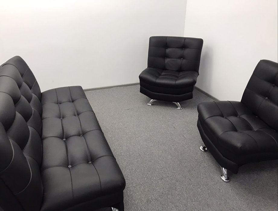 Диван для офиса (+2 кресла)