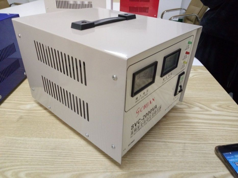 Estabilizador de 3KVA para Eletrodomestico (AC até 12BT)