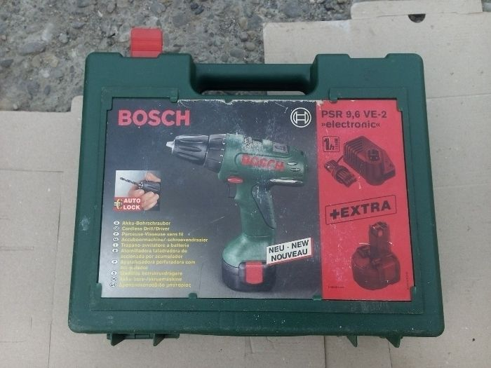 Autofiletanta Bosch PSR 9,6v VE-2