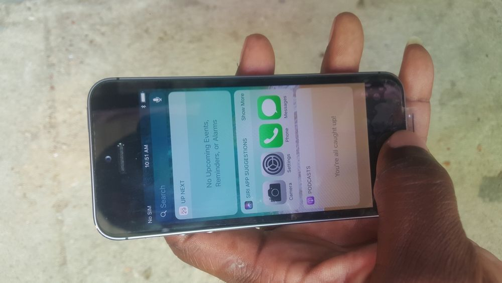 IPhone 5S fora da caixa