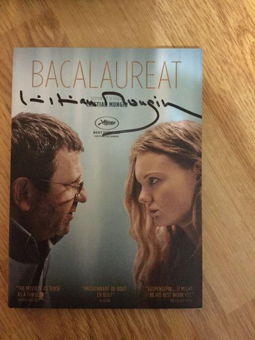 Vând DVD original cu autograf BACALAUREAT