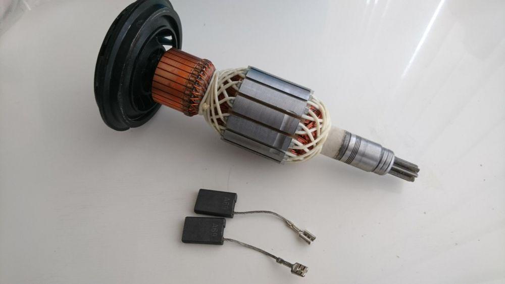 Ротор +Четки комплект Бош Gsh11/Gbh 11 Bosch къртач /перфорат