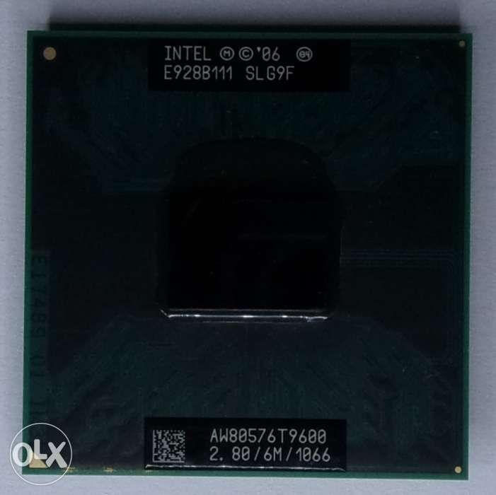 Procesor Laptop Intel C2D T9600 / 2,8 Ghz / 6M / 1066 Fsb -200 Lei