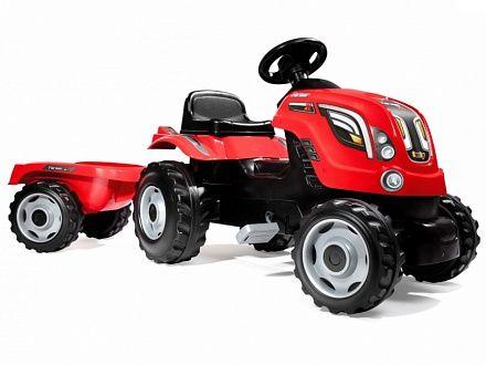 Трактор педальный XL с прицепом 710108 Smoby