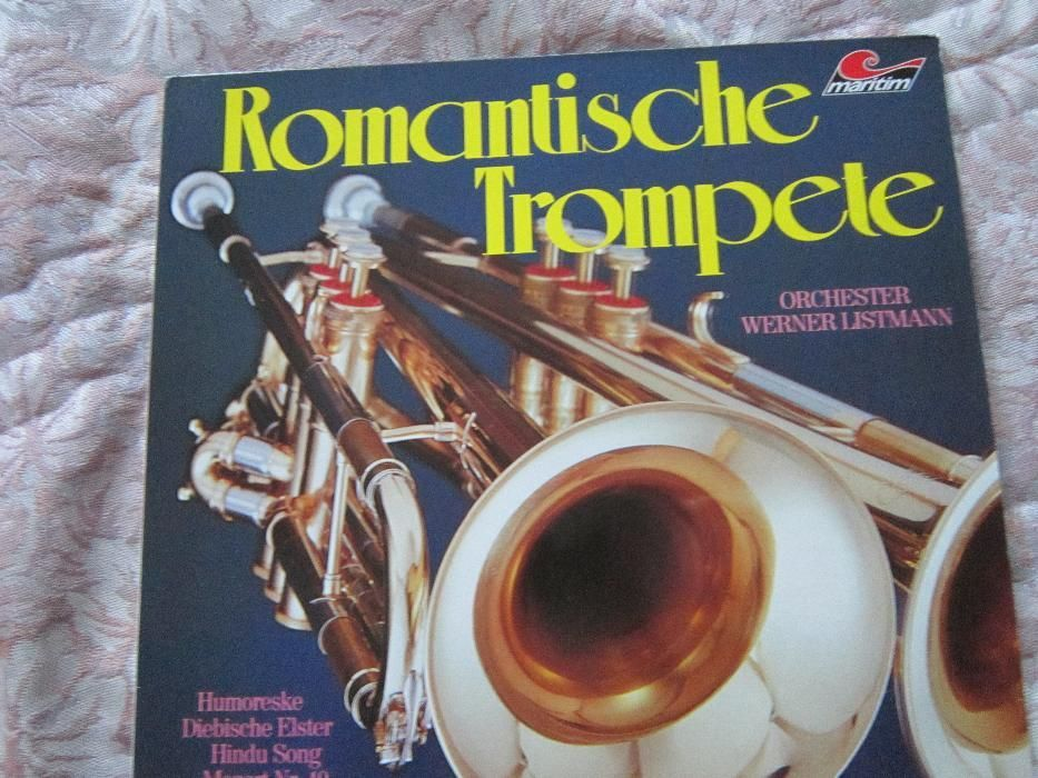 vinil -nou- Romantische Trompete-Orchester Werner Listmann 1974