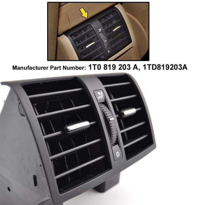 Grila ventilatie aer conditionat din cotiera VW Touran Caddy 2003-2015